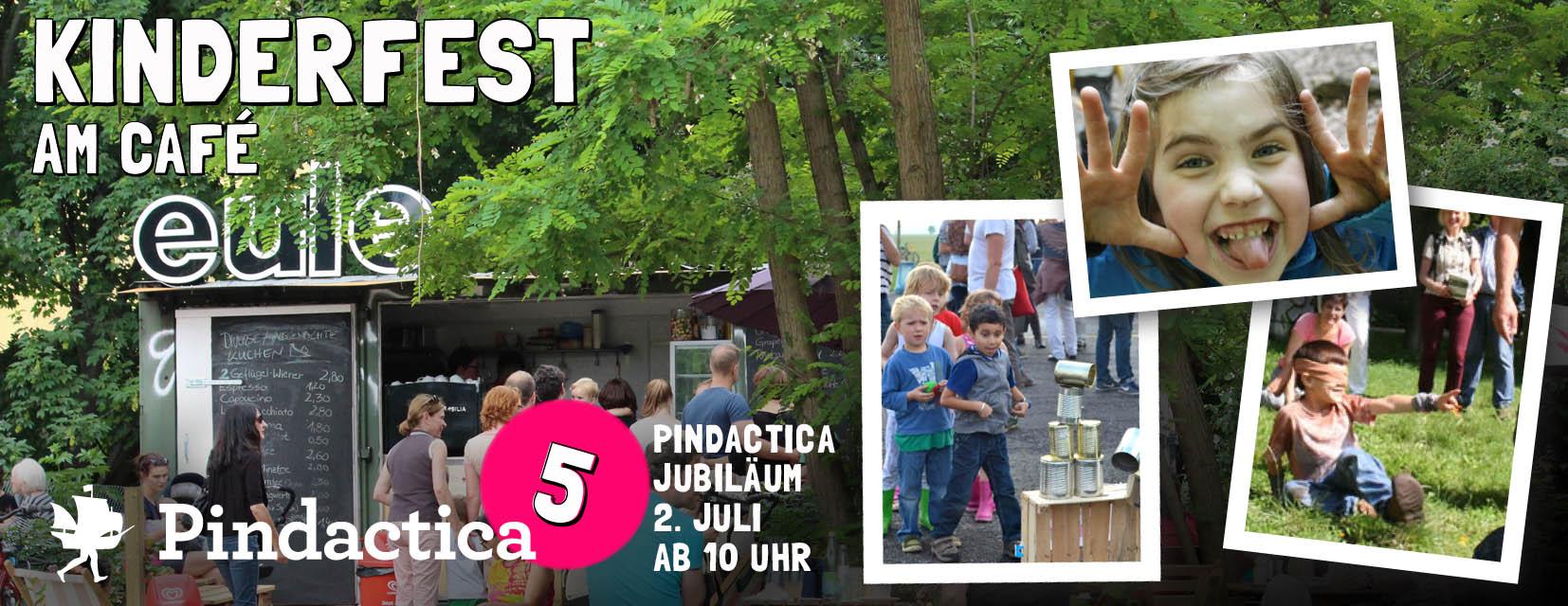 Kinderfest 5 Jahre Pindactica