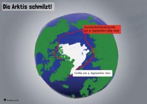 12 Die Arktis schmilzt