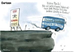 21 Klimawandel-Cartoon von Gerhard Mester